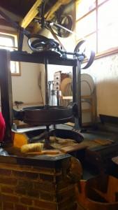Maschine in der Ölmühle 2