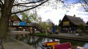 Touristenhochburg Lehde
