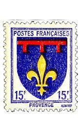 Unter dem blauen Himmel der Provence
